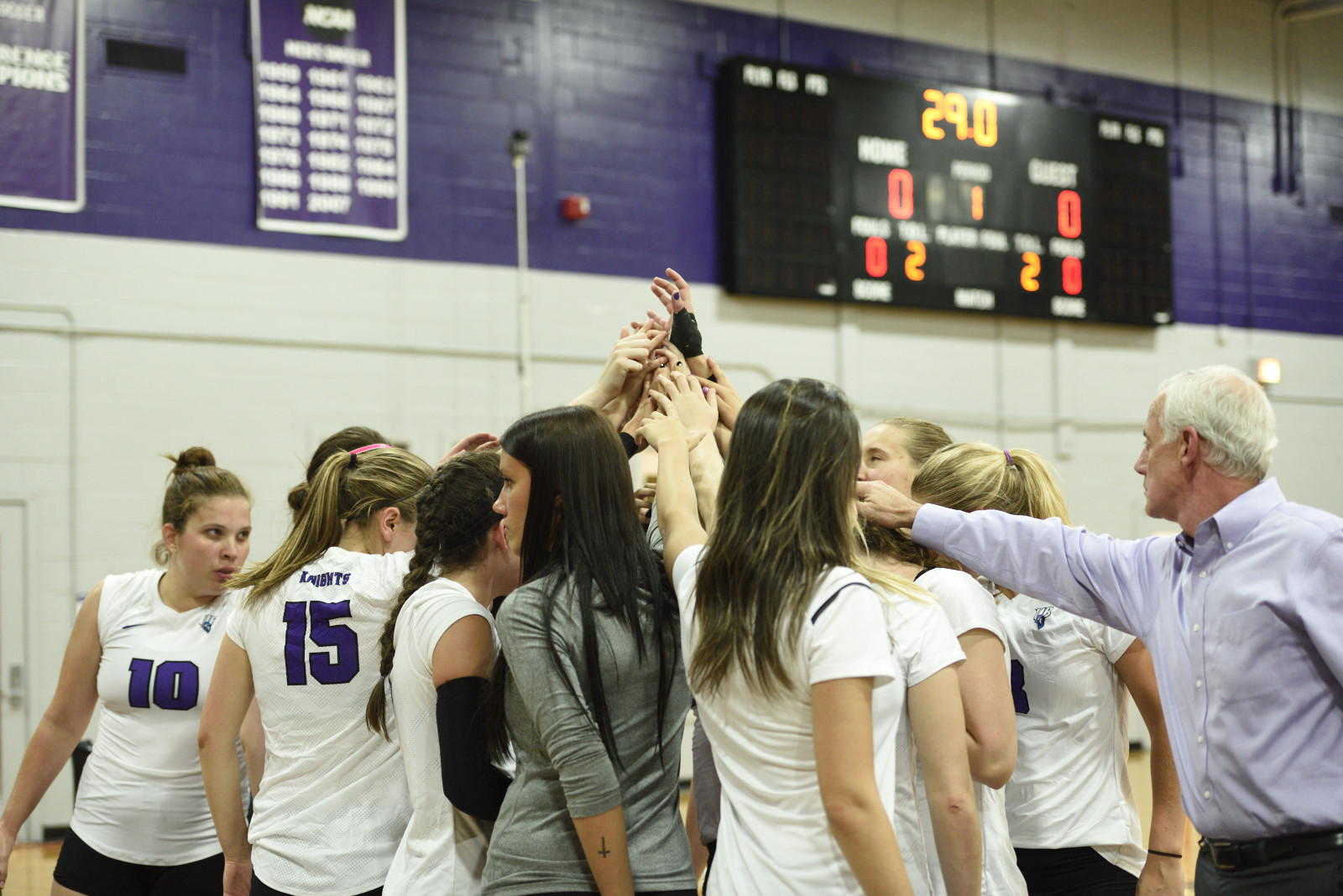 Bridgeport Volleyball Sweeps Roberts Wesleyan