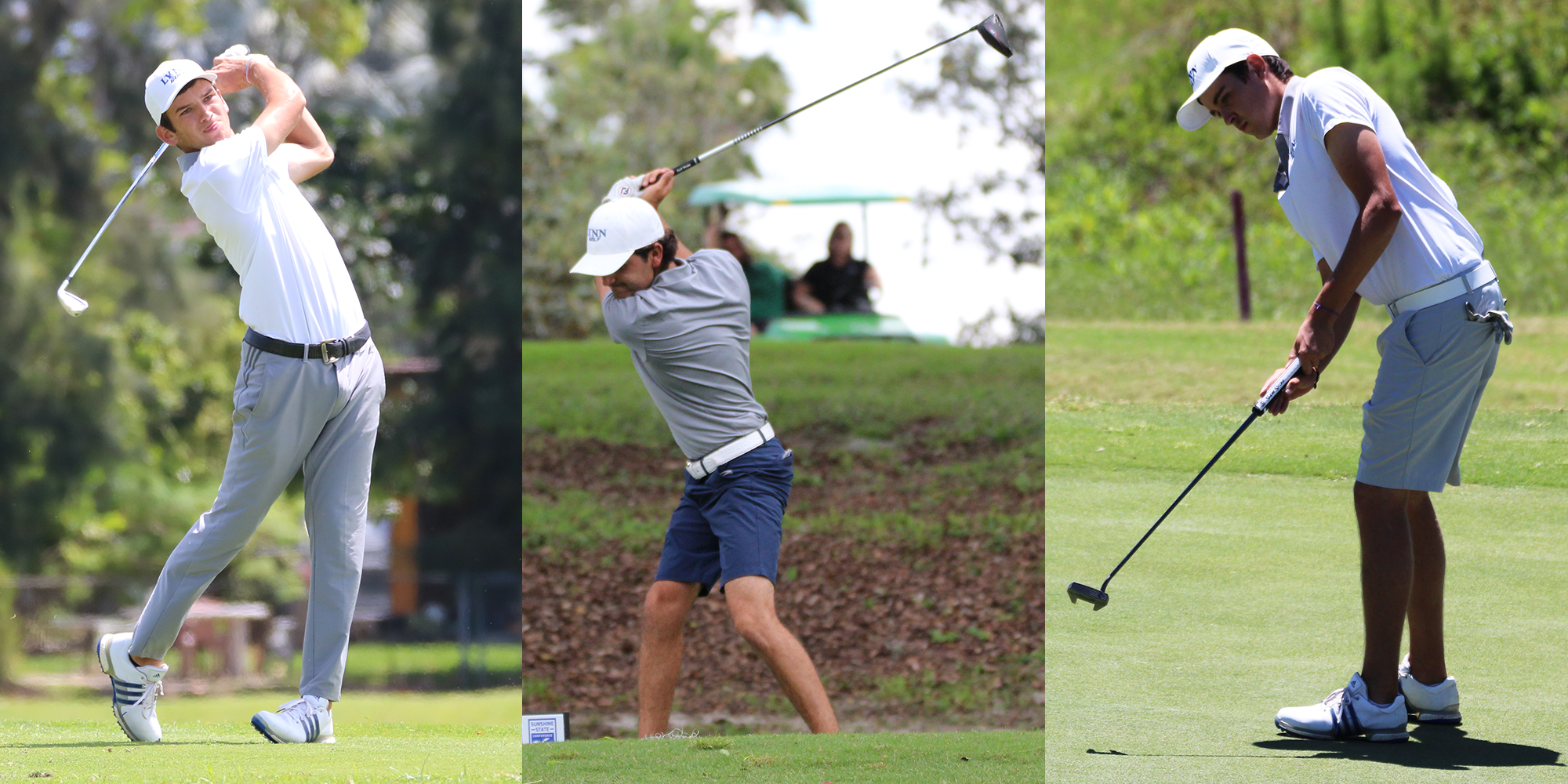 Men's Golf Sees Trio Collect All-SSC Hardware
