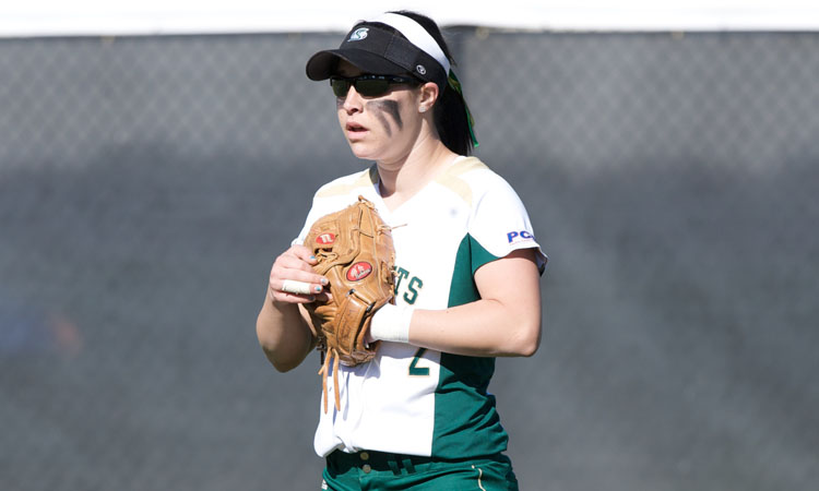SOFTBALL EARNS SPLIT OF DOUBLEHEADER AT SAINT MARY'S
