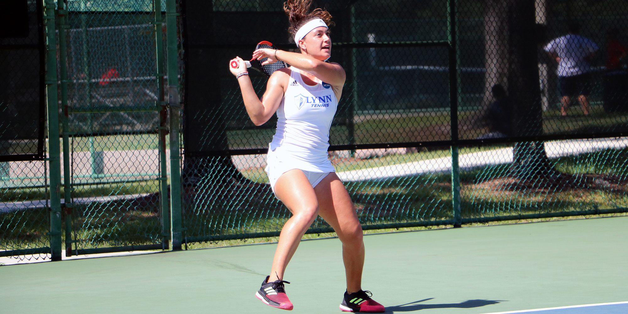 ONE MORE! Women's Tennis Races Past Greyhounds into NCAA National Championship