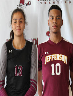 Marjorie Vazquez and Caleb Mueller named Jefferson Co-Athletes of the Week