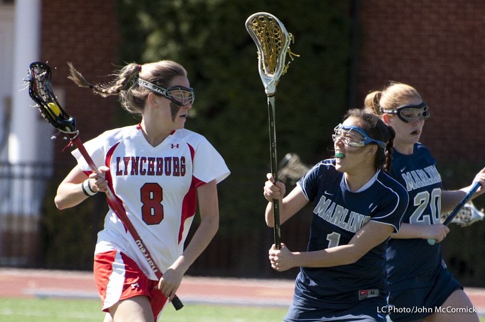 Late Rally Falls Short; LC Women's Lax Falls 17-11 at Shenandoah