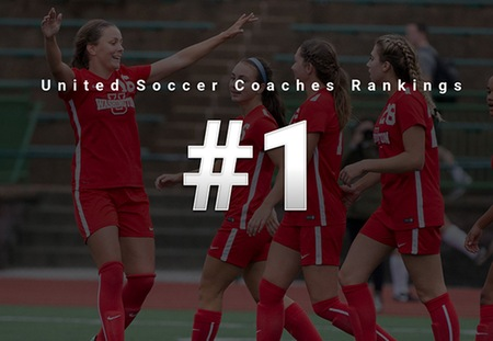 Washington University Women's Soccer Vaults to No. 1 in National Rankings