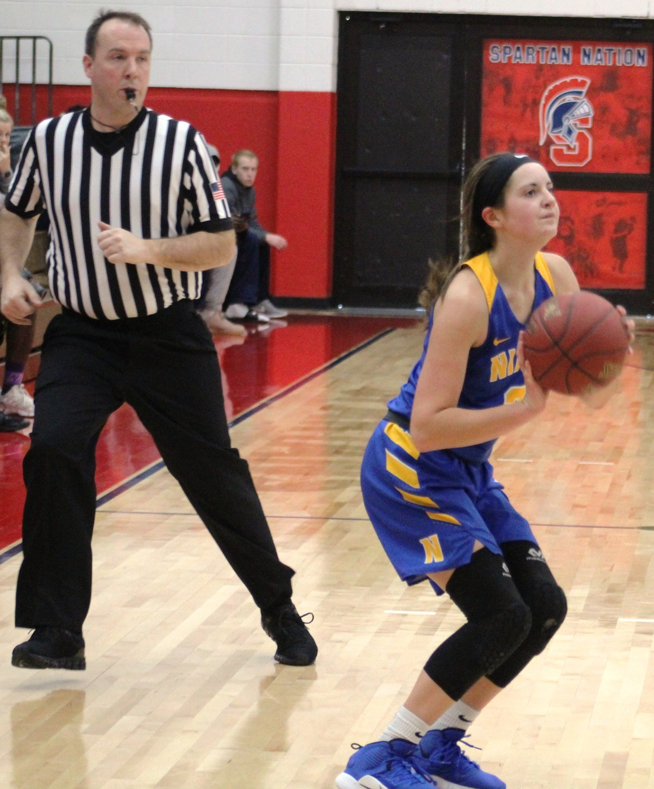 NIACC's Mandy Willems shoots a three-pointer in a game at Southwestern in December.