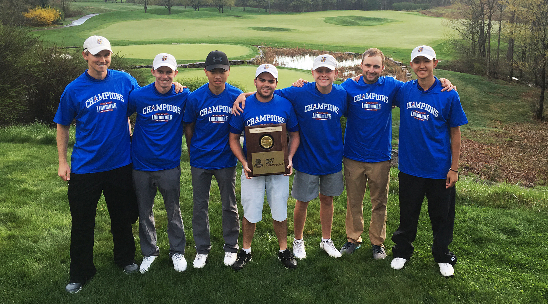 Men's Golf Captures Inaugural Landmark Conference Championship to Cap Program's First Season