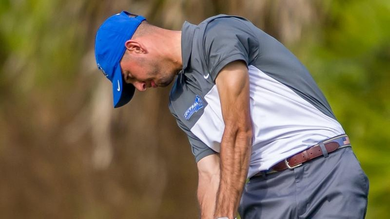 Men's Golf in Fourth After Day One at NEC Championships
