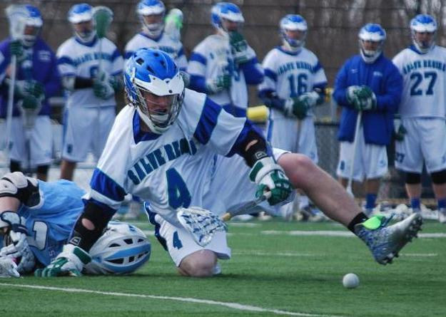 Curtis McKeon, Salve Regina's all time leader in ground balls, broke his own single-game record with 24 against Clark.