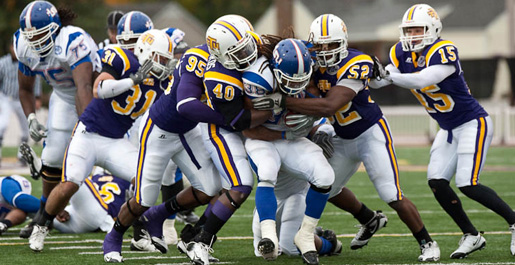 Golden Eagles were third most improved FCS football team in the nation in 2009