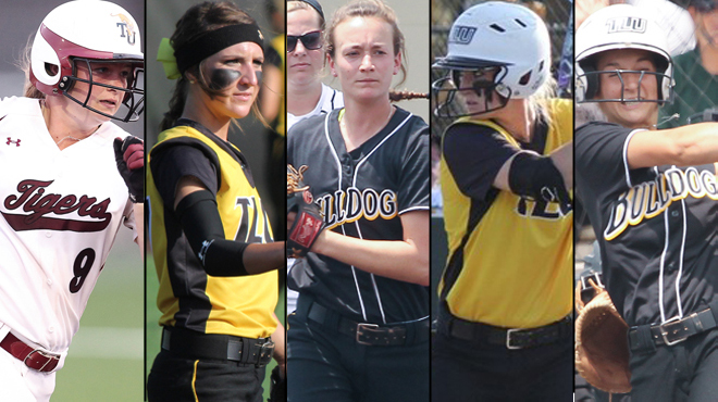 SCAC Places Five on NFCA All-Region Team