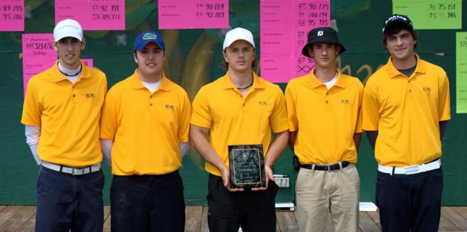 Bishop Golfers Take 3rd at Piedmont Spring Invite