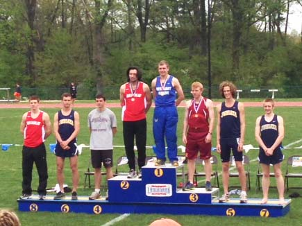 Quigley earns All-Conference honors at outdoor championships