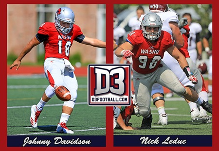 Johnny Davidson and Nick Leduc Earn All-Region Honors