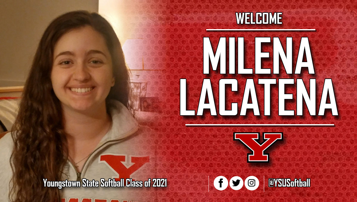 Softball Signs Milena Lacatena to National Letter of Intent