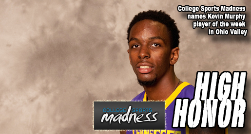 Murphy receives weekly award from College Sports Madness