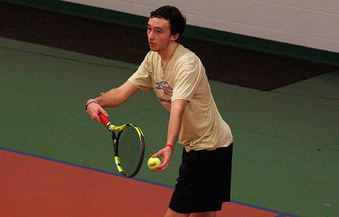 Men's Tennis Falls at Franklin Pierce to Open Quick Three-Match Stretch