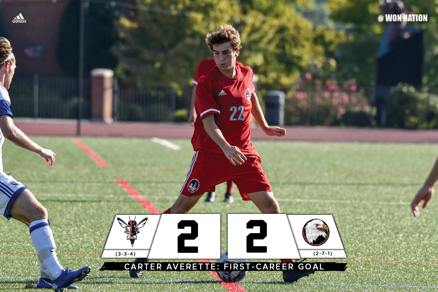 Men's soccer draws Bridgewater in non-conference match