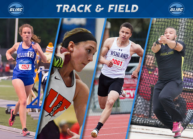 GLIAC Outdoor Track & Field Weekly Honors | Week 6