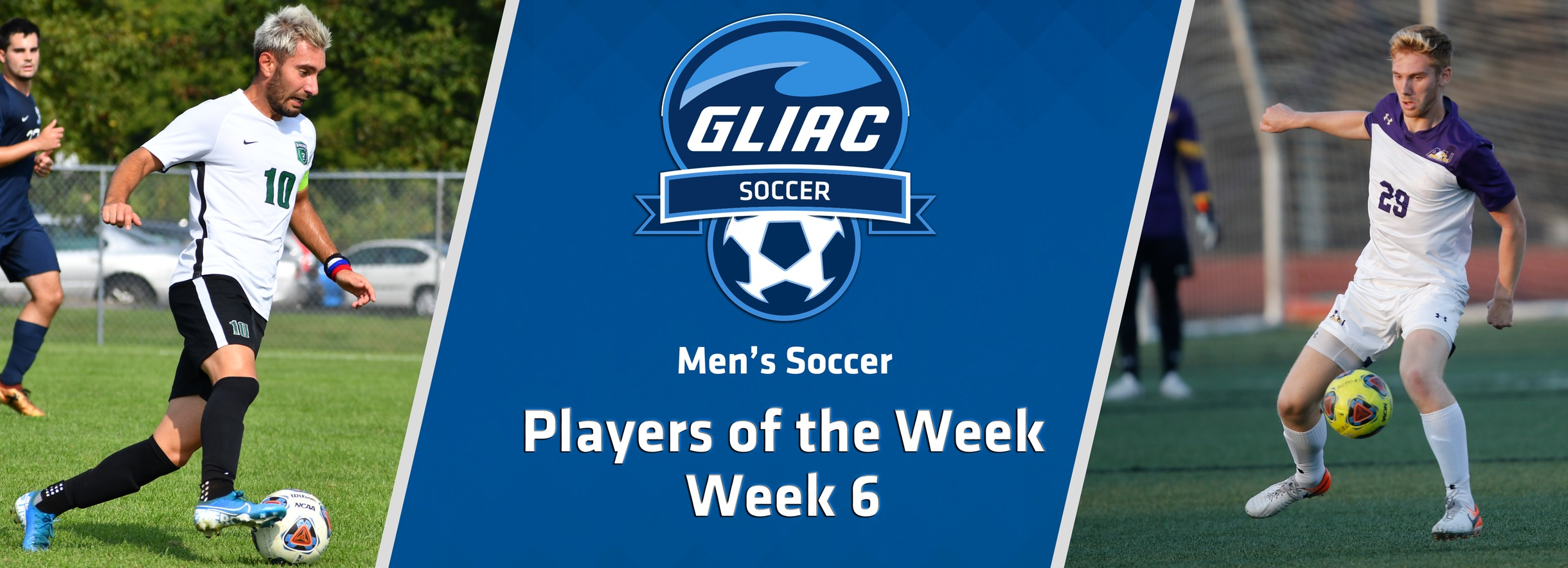 UWP's Prpa and AU's Renner Earn GLIAC Men's Soccer Weekly Awards