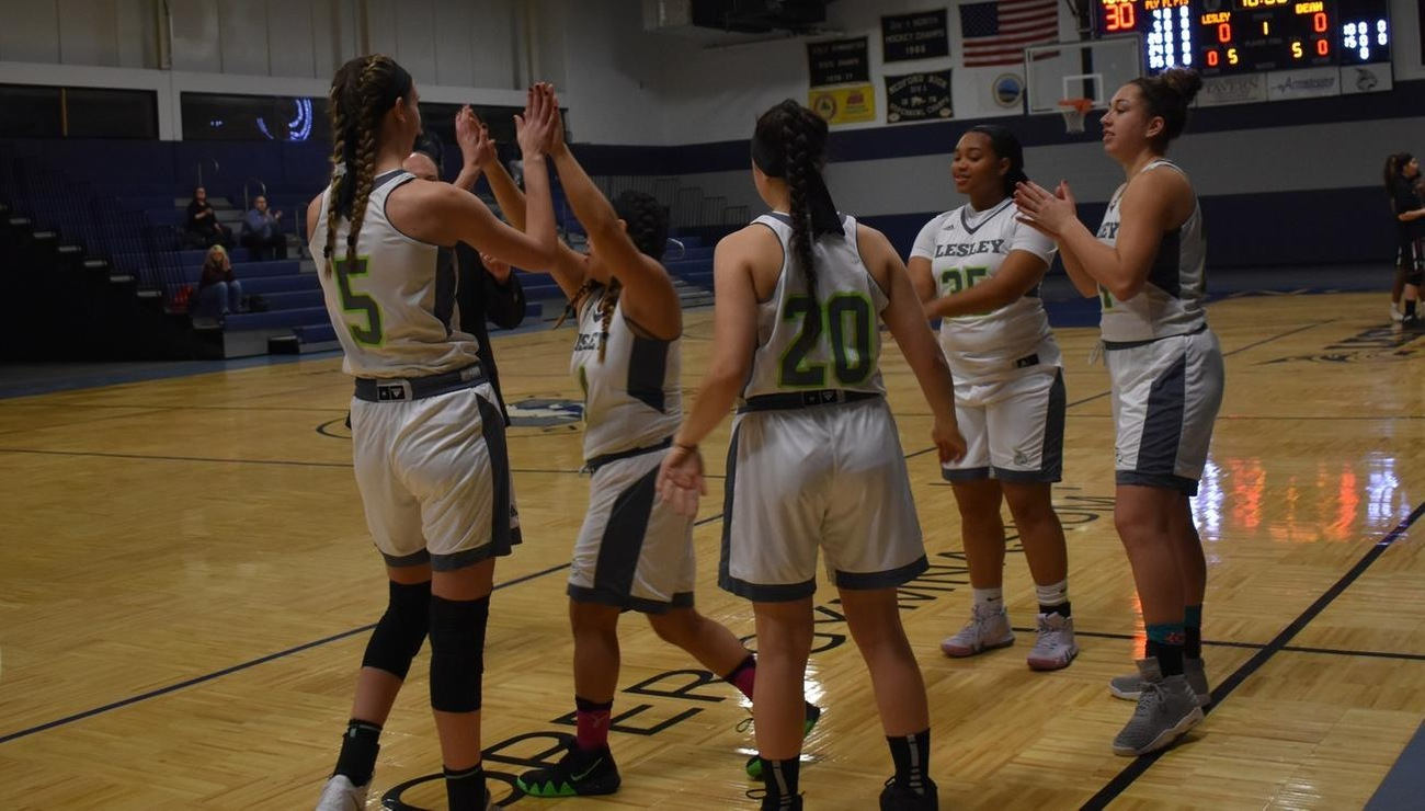 Mitchell Overpowers Lesley in Conference Loss, 88-41