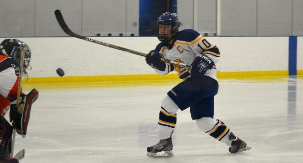 Harle Scores Wildcats First Goal As Women's Ice Hockey Falls 8-1 At Stevenson