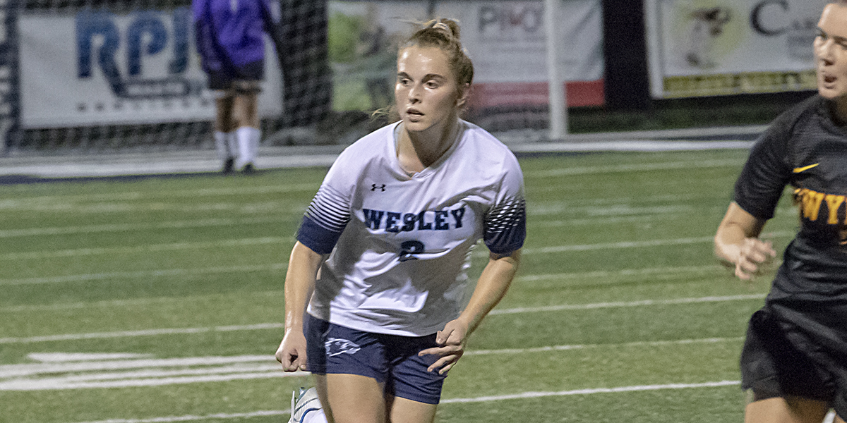 Women's Soccer Undefeated (4-0) in AEC After Shutout against Marymount, 3-0