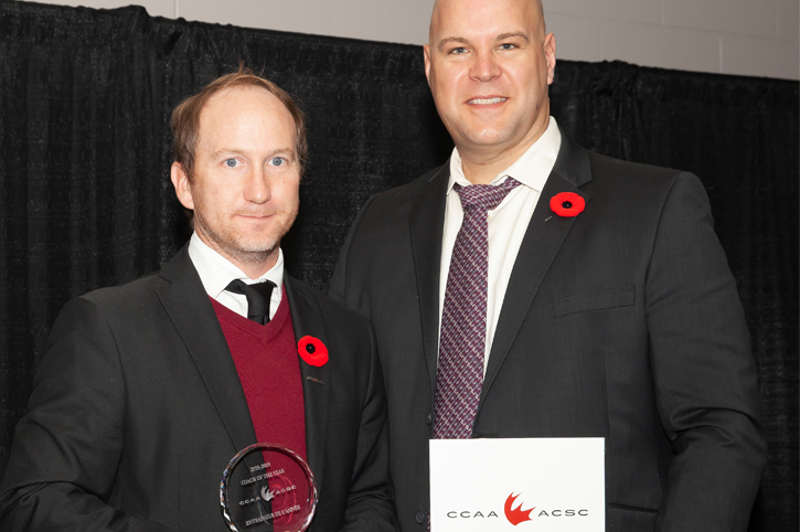 Bourgeais named CCAA Men's Soccer Coach of the Year