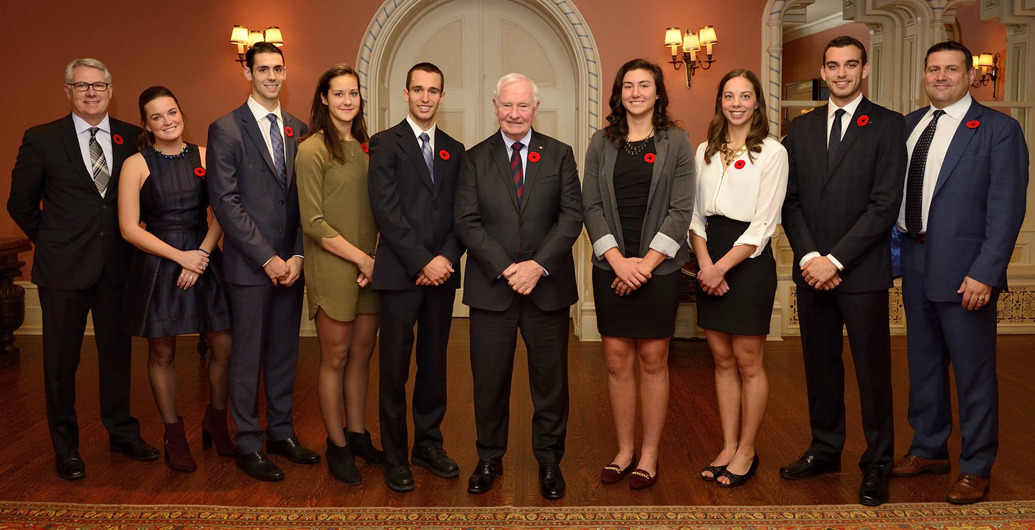 Elenor Henry celebrated at Rideau Hall as U Sports Top 8 Academic All-Canadian
