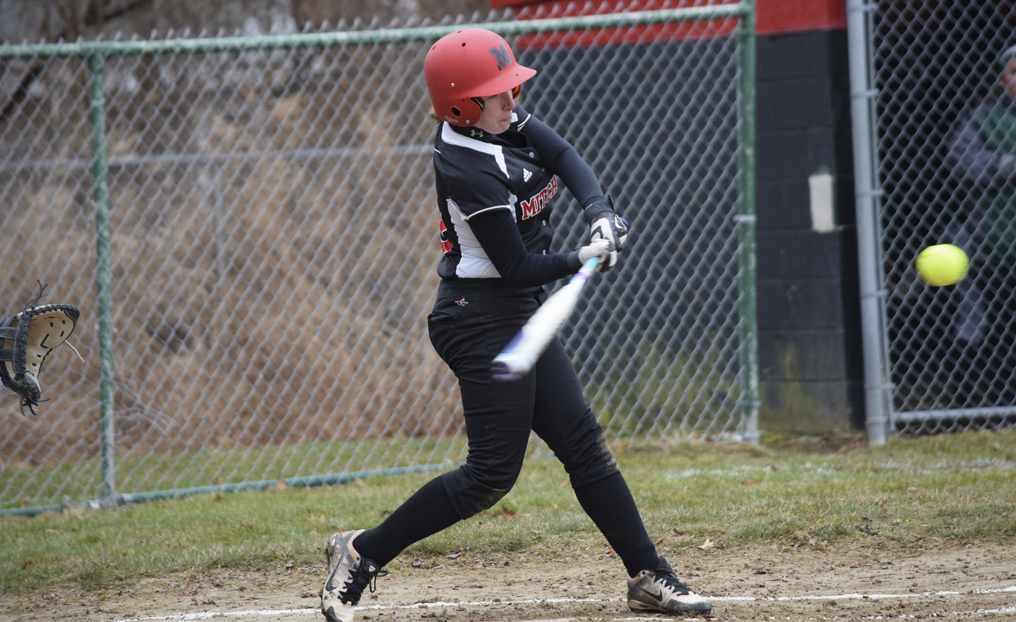 Strong Pitching Leads Softball to Sweep of Pine Manor