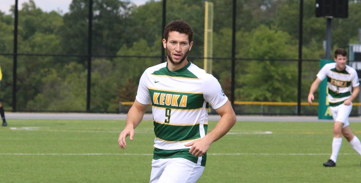 Seth Spurgeon (9) scored for the second consecutive game on Saturday