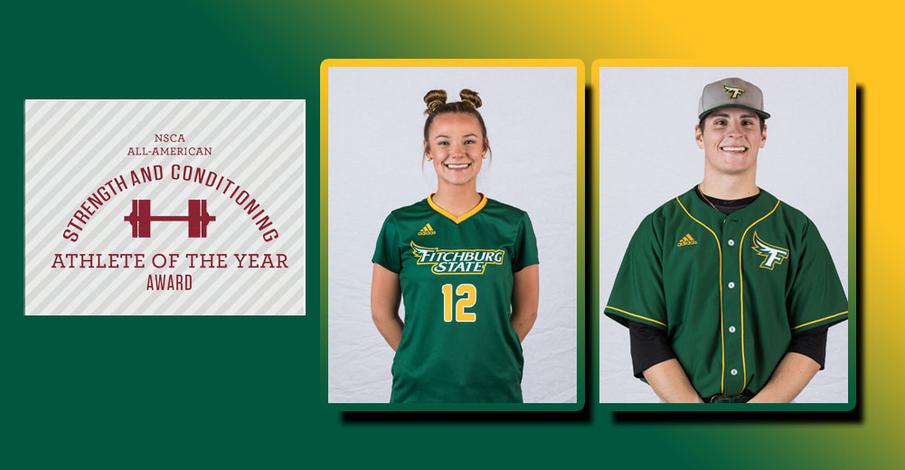 Belcher And Parsons Earn NSCA All-American Athlete Award Honors