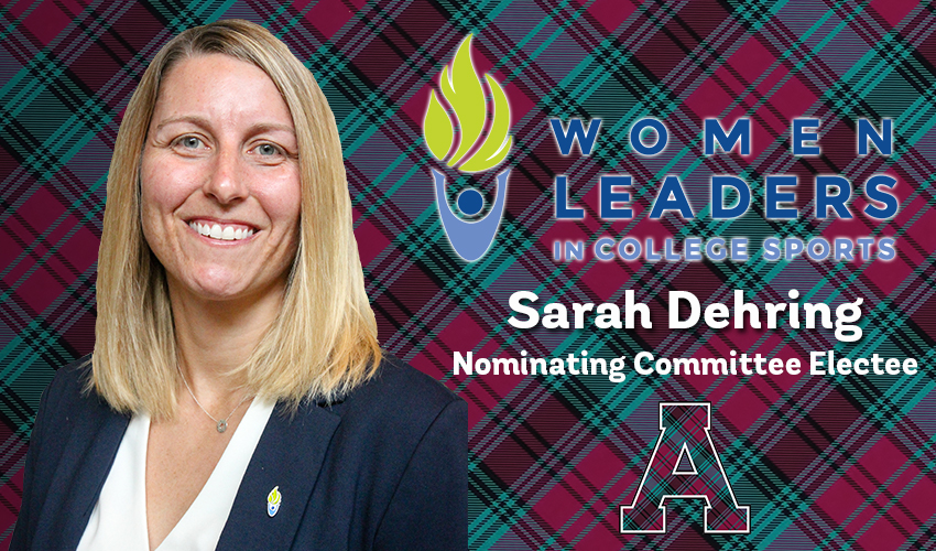 Dehring Elected to Women Leaders in College Sports Nominating Committee