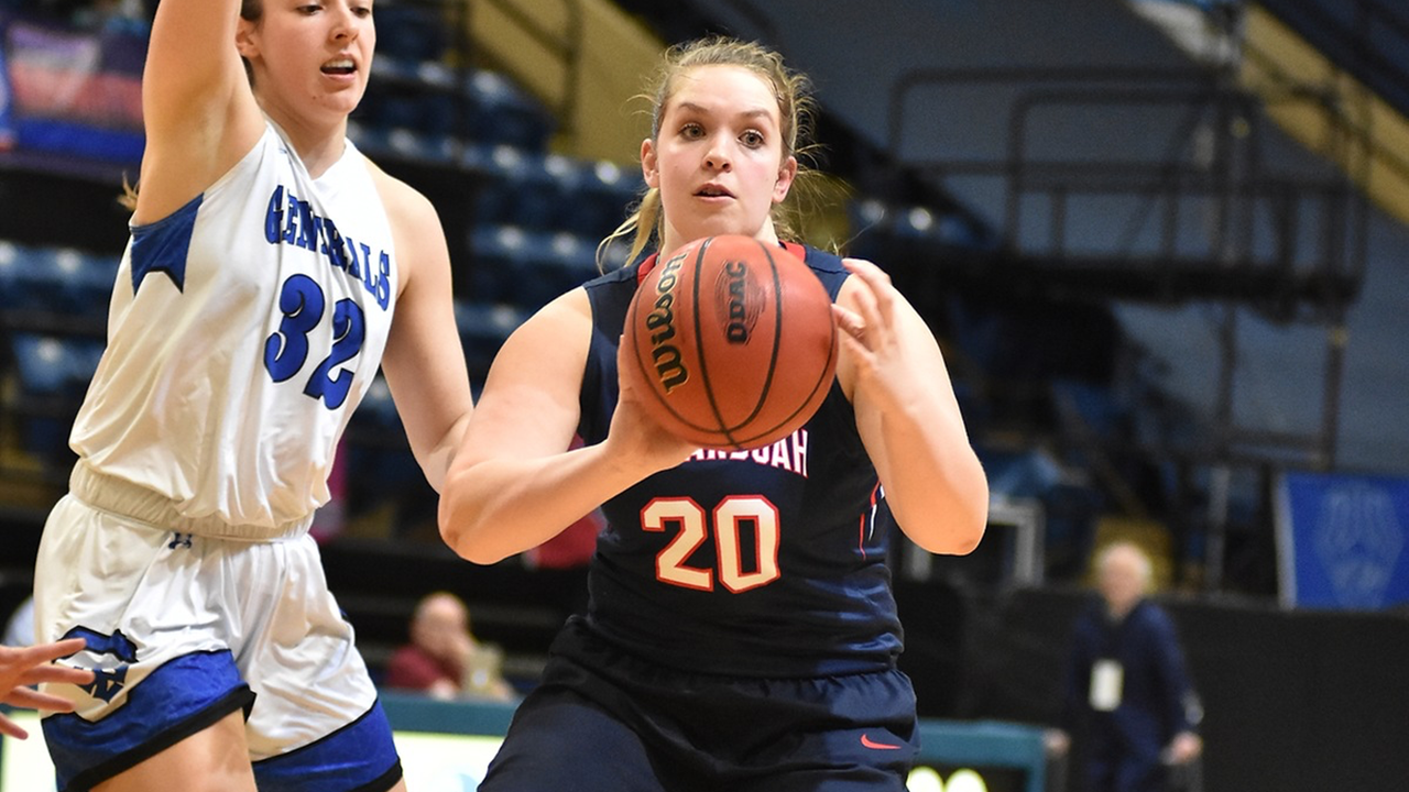 Brianna Turner led Shenandoah with 14 points in the Hornets 77-49 setback in the first round of the NCAA Division III Women's Basketball Tournament.