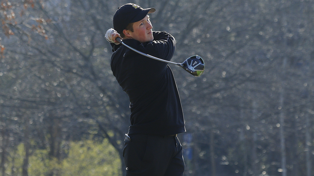 Golden Eagles one stroke back of lead at Grover Page Classic