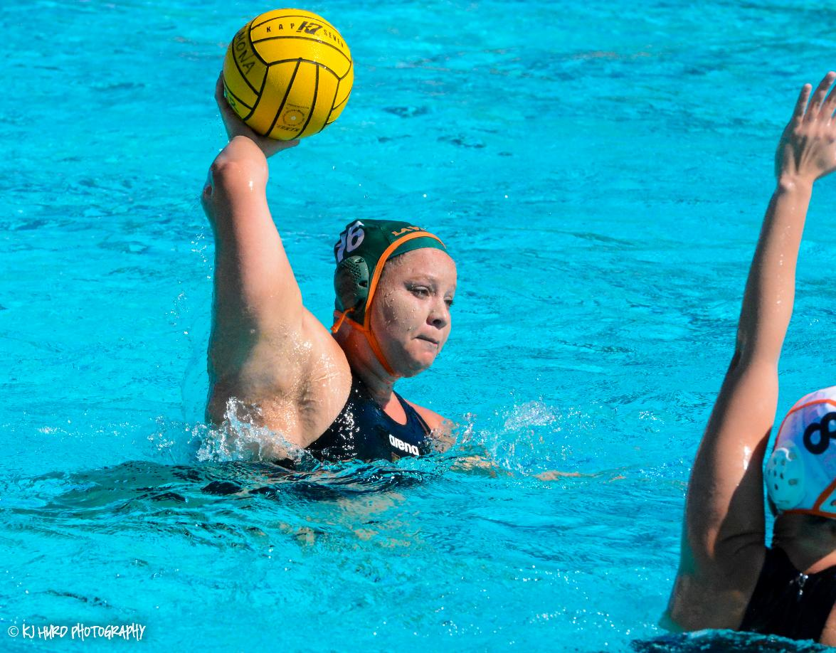 Women's Water Polo dominates Caltech for first SCIAC win