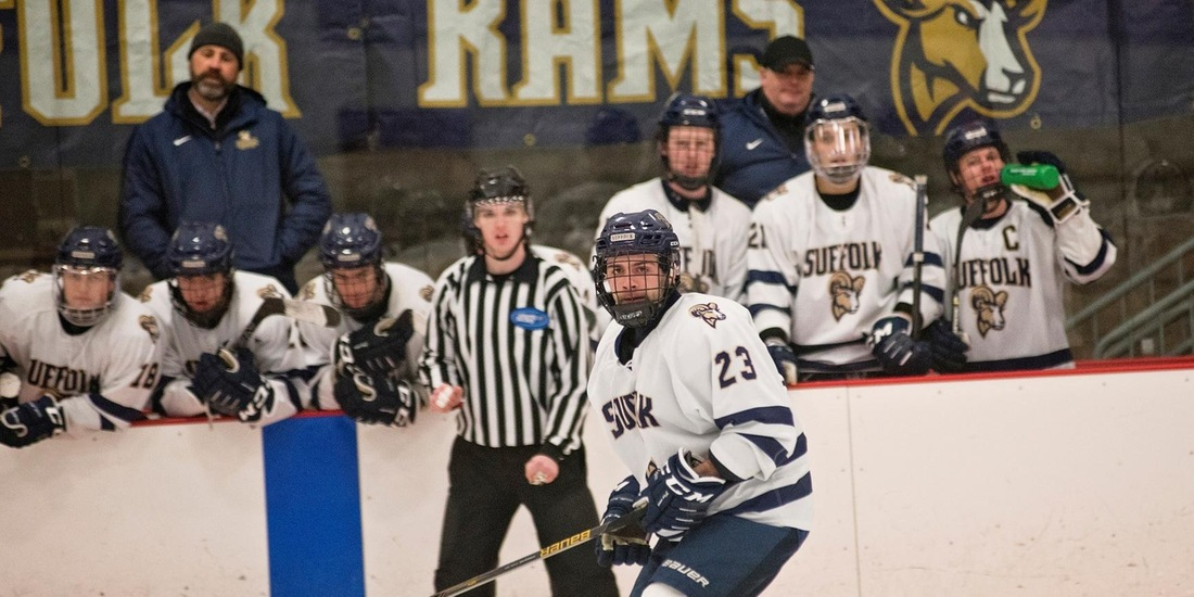 Men's Hockey Returns to CCC Action, Takes on Becker this Weekend