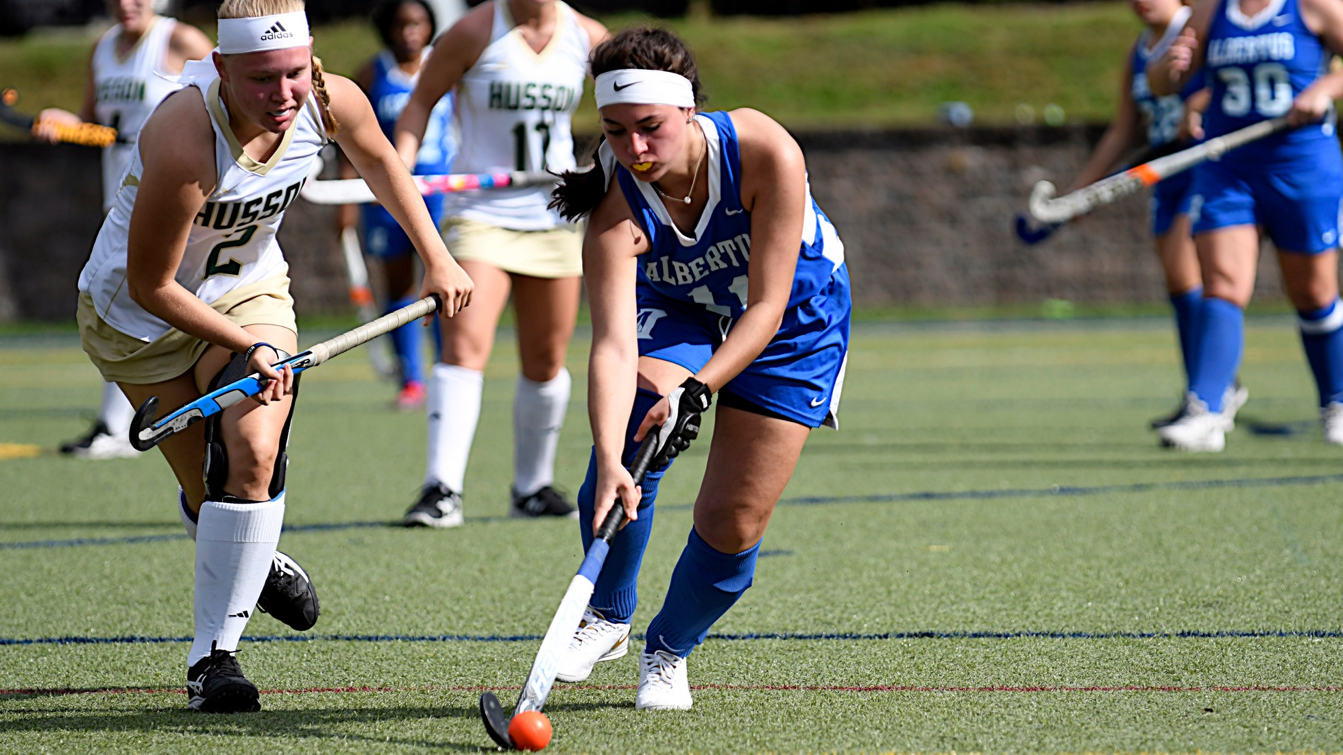 Field Hockey Drops Road Game to Rivier
