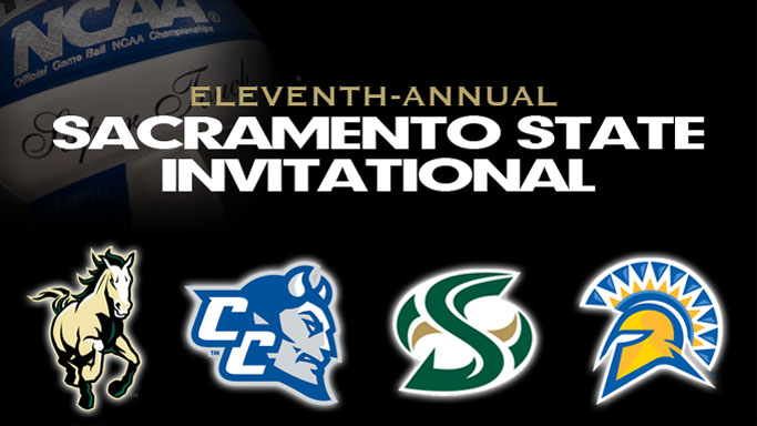 VOLLEYBALL HOSTS 11TH-ANNUAL SACRAMENTO STATE INVITATIONAL