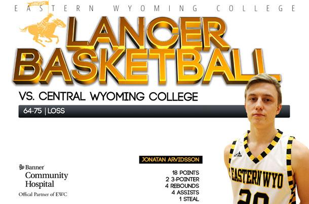 EWC Lancer Basketball team vs. Central Wyoming College Basketball team