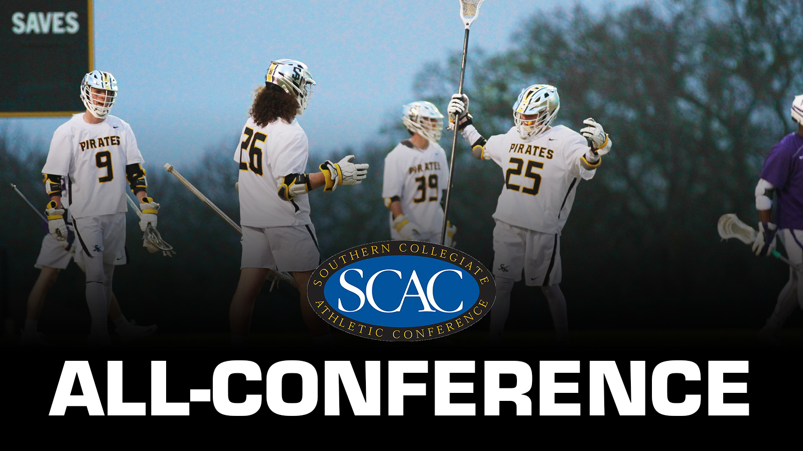 SCAC Offensive Player of the Year Zac Asbury Headlines 10 Pirates on All-SCAC Team
