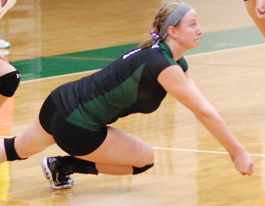 Volleyball earns split at OWU