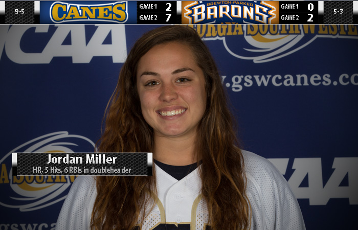 Miller Powers Lady 'Canes to Sweep