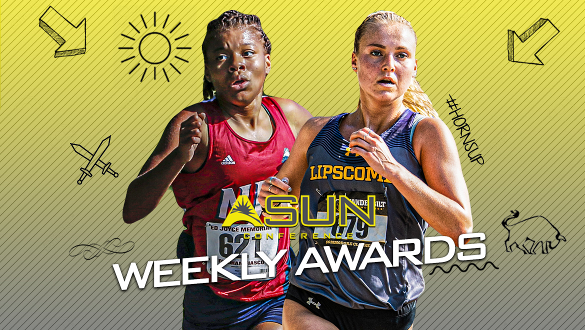 Lipscomb's Kingma and NJIT's Hill-Glover Take Women's #ASUNXC Weekly Awards