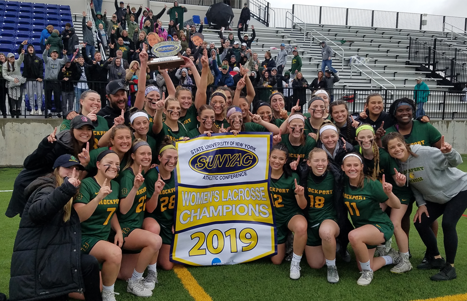 Brockport crowned as 2019 Women's Lacrosse conference champions
