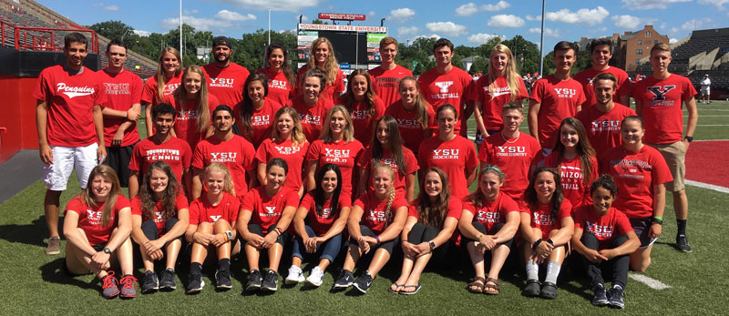2016-17 YSU Student-Athlete Advisory Committee