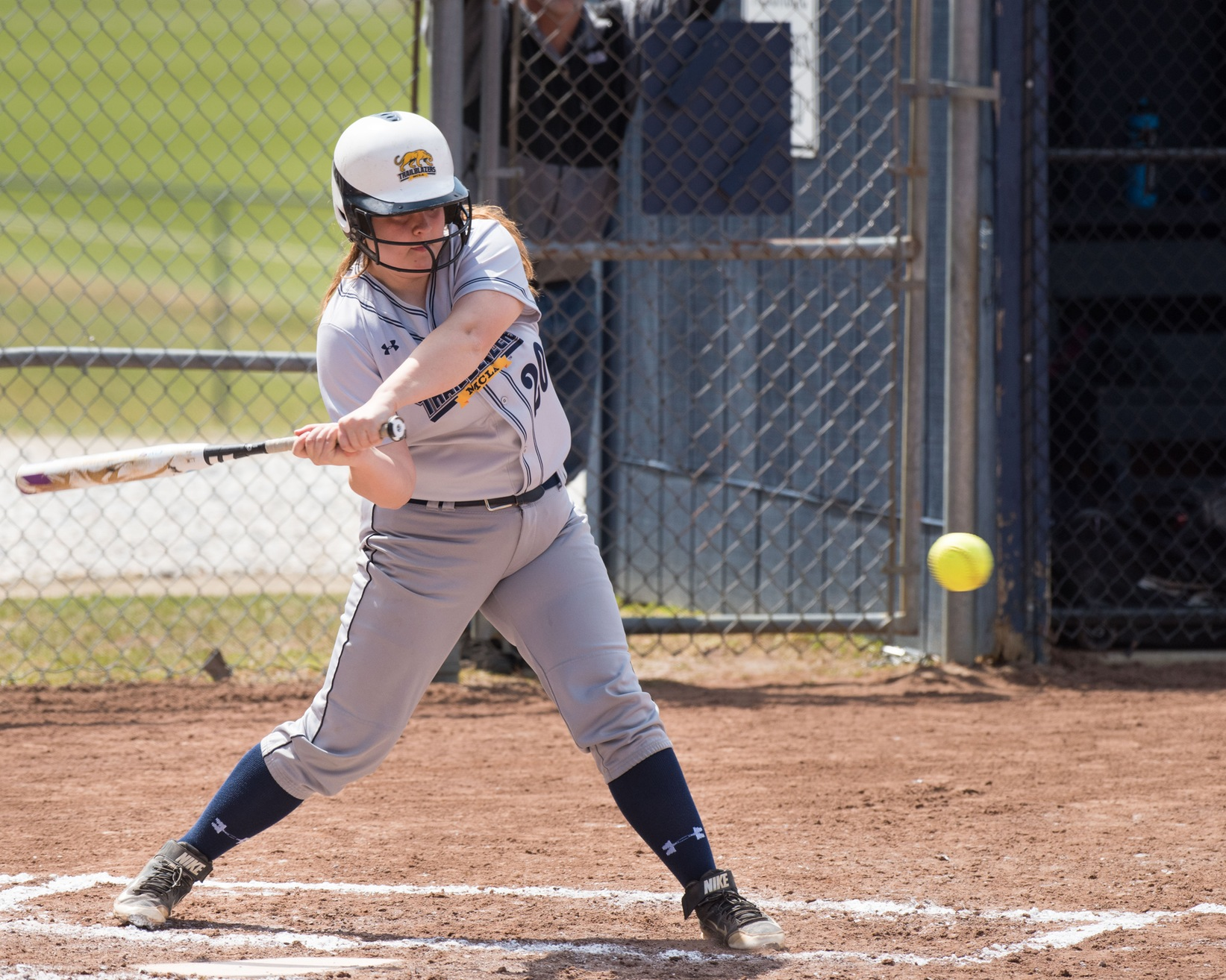 Softball sweeps Mass. Maritime in MASCAC action