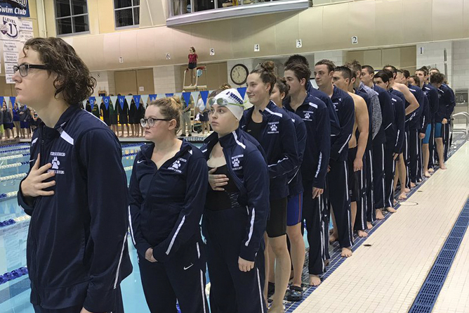 Behrend Places Second at Fredonia Blue Devil Invitational