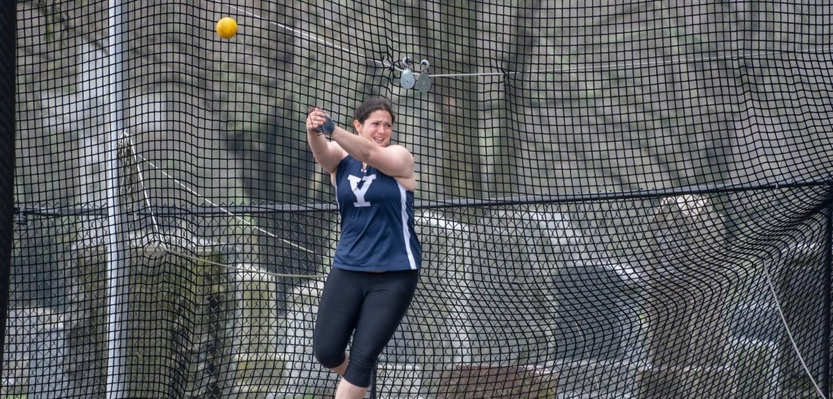 Emma Vasen. (photo by Nina Lindberg, Yale Athletics)