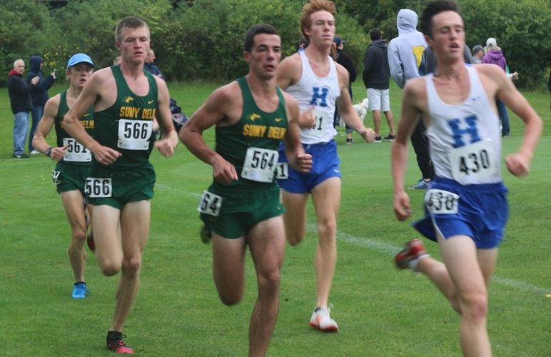 Lane Tops Field, Four Broncos Take Top Ten at Oneonta Invite