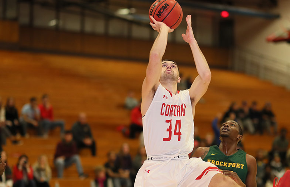 Cortland's Cooper named SUNYAC Men's Basketball Athlete of the Week