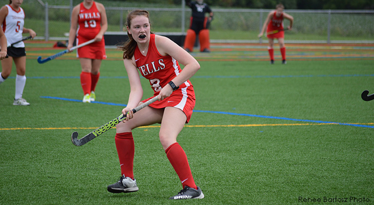Wells Field Hockey Knocked Off By Oneonta